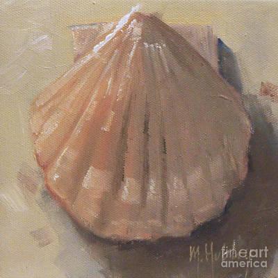 Scallop Shell Beach Seashell Original