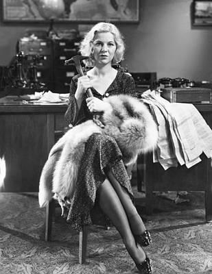 Glenda Photograph - Scandal For Sale, Glenda Farrell, 1932 by Everett
