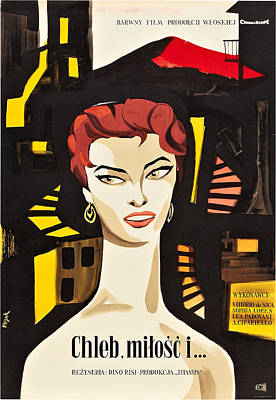 Scandal In Sorrento, Aka Pane, Amore Art Print