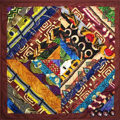 Tapestry - Textile - Scandalous by Aisha Lumumba