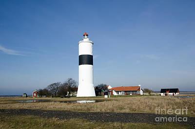 Photograph - Scandinavian Lighthouse by Kennerth and Birgitta Kullman