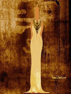 Scarab Sista Goddess Art Print