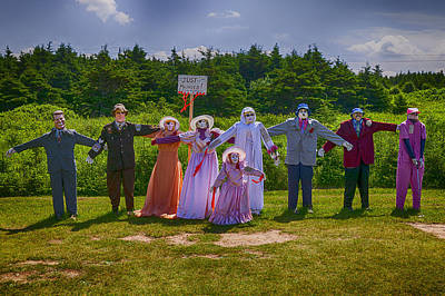 Scarecrow Wedding Print by Garry Gay