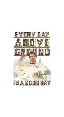 Friend Digital Art - Scarface - Above Ground by Brand A
