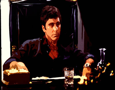 Scarface II Art Print by Brian Reaves