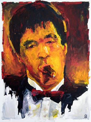 Vox Painting - Scarface by Michael Leporati