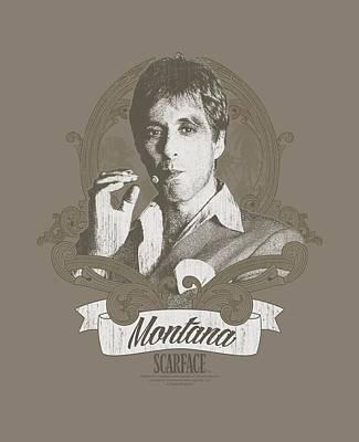 Montana Digital Art - Scarface - Montana by Brand A