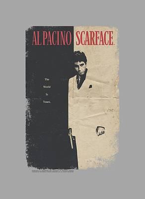 Montana Digital Art - Scarface - Vintage Poster by Brand A
