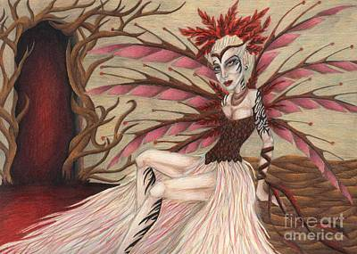 Scarlet Art Print by Coriander  Shea