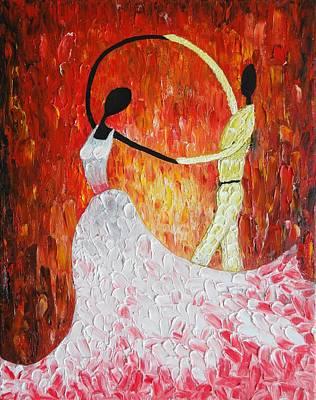 Painting - Scarlet Dance by Tanya Anurag
