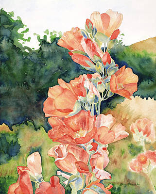 Painting - Scarlet Globemallow by Amy Lewark