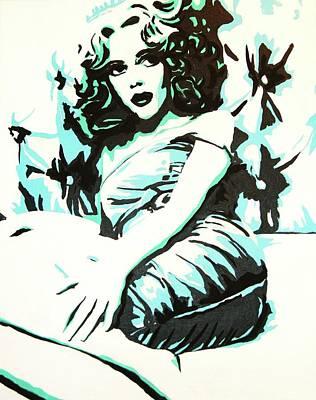 Scarlett Blues Art Print by Lorinda Fore
