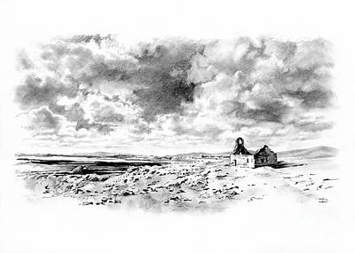 Drawing - Bleak Chapel by Paul Davenport