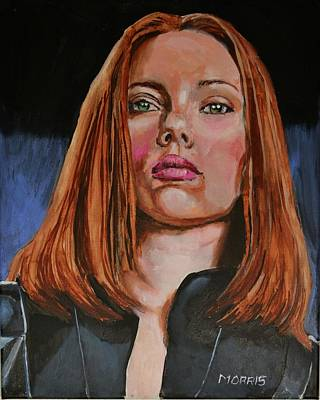 Scarlett Johansson / Black Widow Original by Dwain Morris