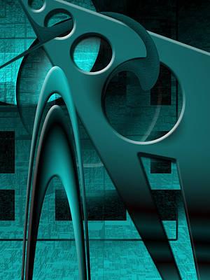 Free Form Digital Art - Scarpoli's Vengeance by Steve Sperry