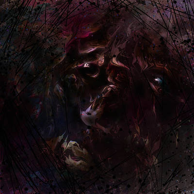 Hurt Digital Art - Scarred by Rachel Christine Nowicki