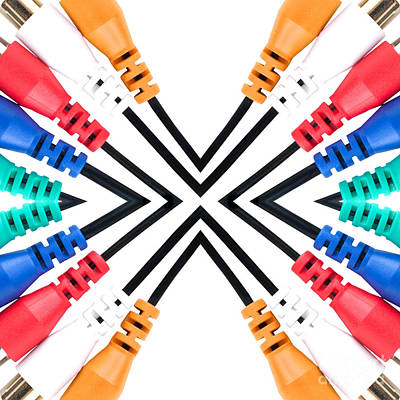 Photograph - Cable Abstract by Liz Leyden