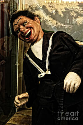 Photograph - Scary Sailor Puppet by Doc Braham