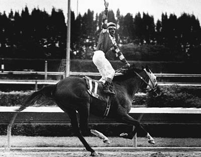 Scat Photograph - Scat Dancer Horse Racing Vintage by Retro Images Archive