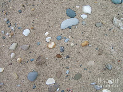 Photograph - Scattered Pebbles by Margaret McDermott