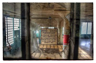 Photograph - Scene @ Alcatraz by Jim McCullaugh