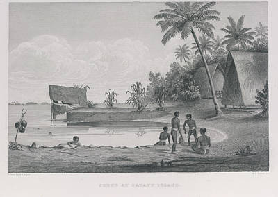 Tucker Photograph - Scene At Oatafu Island by British Library