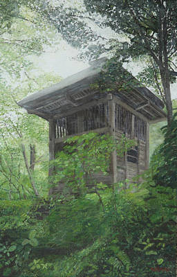 Painting - Scene From Japan by Masami Iida