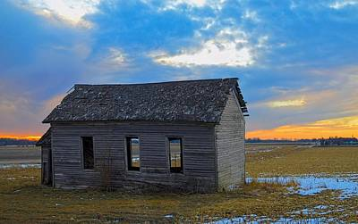 Photograph - Scene From The Past by Bonfire Photography