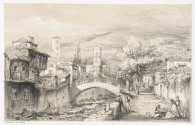 Scene In Madeira Art Print by British Library