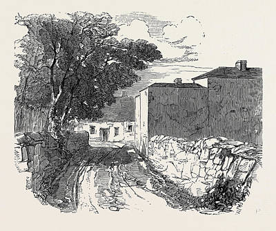 Scene Of The Riot At Six-mile Bridge, Clare Print by Irish School