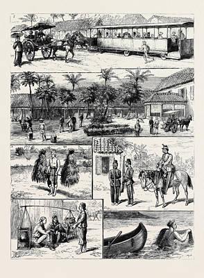 Scenes In Batavia Art Print