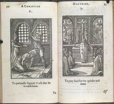 Scenes Of Execution And Praying Print by British Library