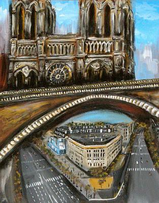 Painting - Scenes Parisiennes 2 by Ka-Son Reeves