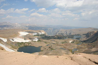 Photograph - Scenic Beartooth Pass by Quin Sweetman