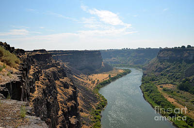 Photograph - Snake River Canyon Twin Falls Idaho by Debra Thompson