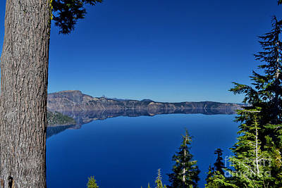 Photograph - Scenic Crater Lake by Ansel Price
