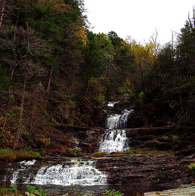 Photograph - Scenic Kent Falls by Stephen Melcher