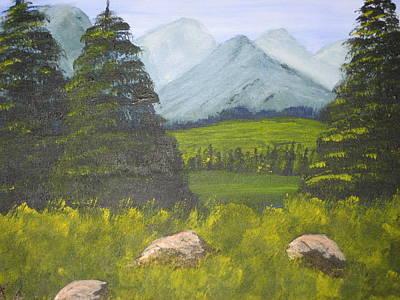 Scenic Landscape Art Print