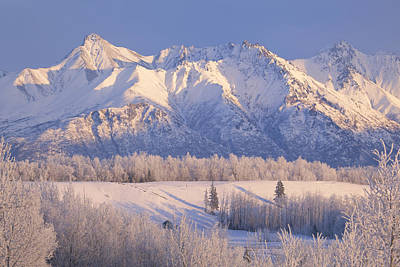 Scenic Landscape Of Byers Peak And Art Print by Michael Criss