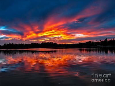 Photograph - Scenic Marine Sunrise by Robert Bales