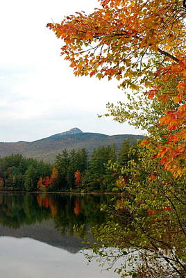 Photograph - Scenic New Hampshire Lake by Eunice Miller