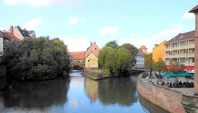 Art Print featuring the photograph Scenic Nuremberg by Kay Gilley