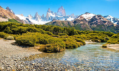 Photograph - Scenic Patagonia by JR Photography