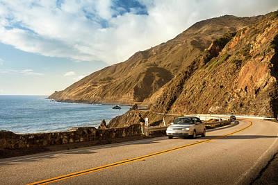 Photograph - Scenic Road On The Big Sur, Coastline by Pgiam