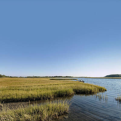 Photograph - Scenic Saltwater Marsh In Connecticut by Marianne Campolongo