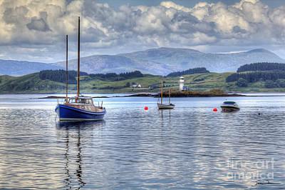 Traci Law Photograph - Scenic Scotland by Traci Law