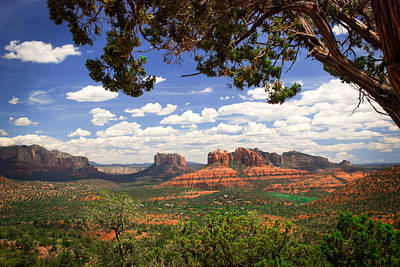 Photograph - Scenic Sedona by Barbara Manis