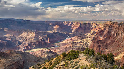 Photograph - Scenic Splendor Of The Grand Canyon by Pierre Leclerc Photography