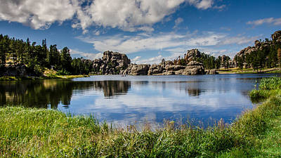 Photograph - Scenic Sylvan Lake At Custer State Park by Debra Martz