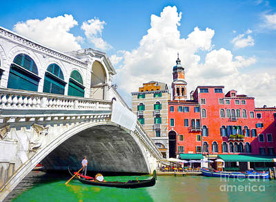 Architecture Photograph - Scenic Venice by JR Photography